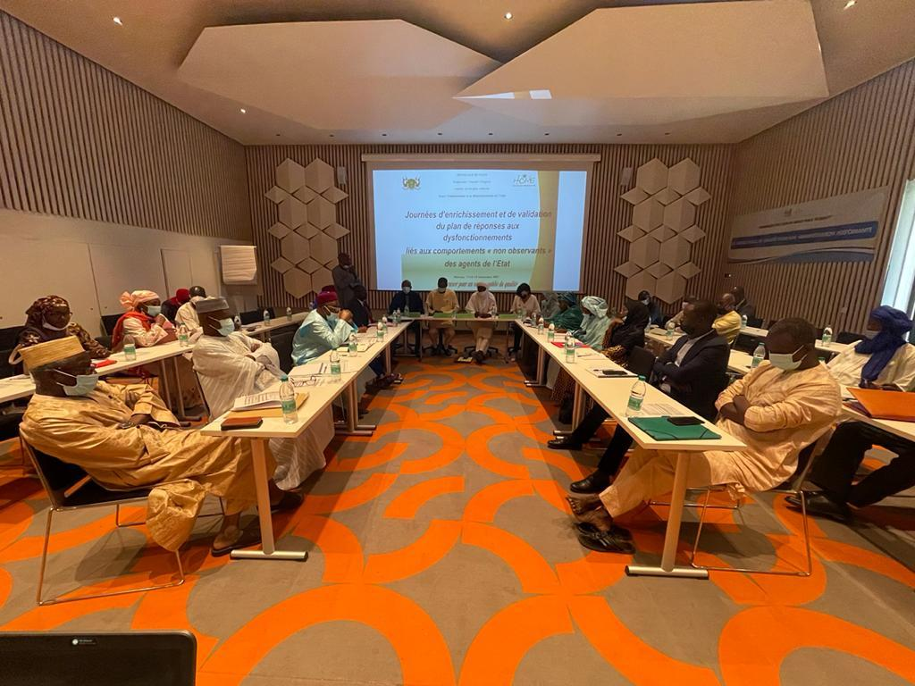 Ouverture à Niamey d'un atelier de validation d'un Plan de réponses aux dysfonctionnements de l'Administration nigérienne