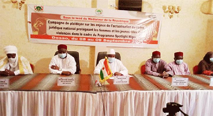 Dosso : Fin de la caravane de plaidoyer sur l'actualisation des cadres juridiques protégeant les femmes et les filles des violences au Niger
