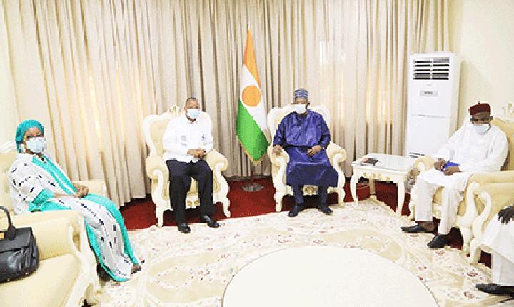 Au Cabinet du Premier ministre : Le Chef du gouvernement reçoit une délégation de la CEDEAO et l'ambassadeur de la République du Côte-d'Ivoire auprès du Niger