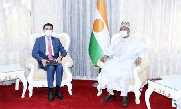 Au Cabinet du Premier ministre : Le Chef du gouvernement reçoit l'ambassadeur de la République de Turquie au Niger