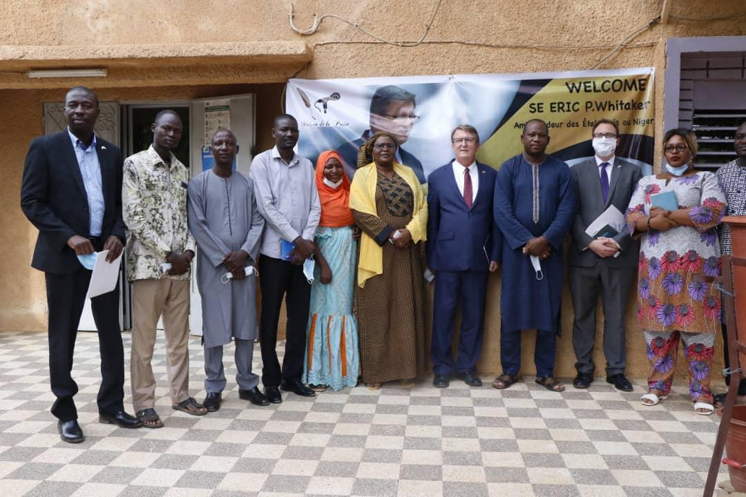 ''Les efforts de l'Ambassade des États Unis dans le cadre du soutien à la presse nigérienne se poursuivront'' (Ambassadeur)