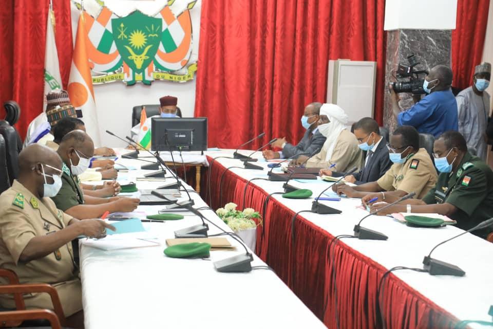 Niger: Réunion, ce mardi 14 septembre 2021, du Conseil National de Sécurité