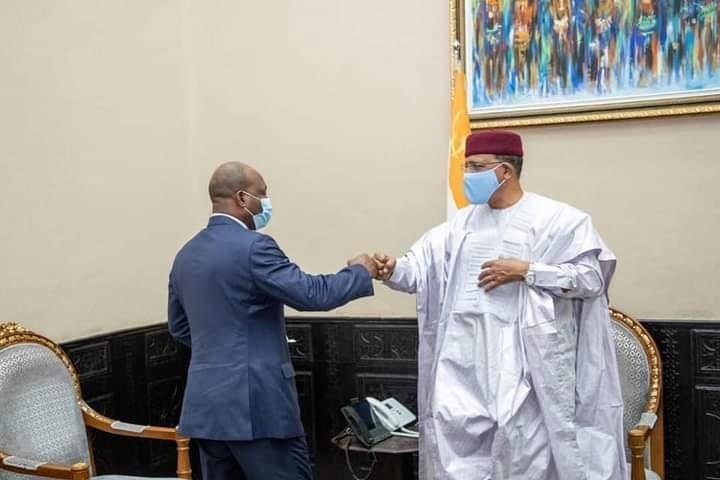 L'Administrateur de la Banque Mondiale pour le Niger reçu par le Chef de l'Etat