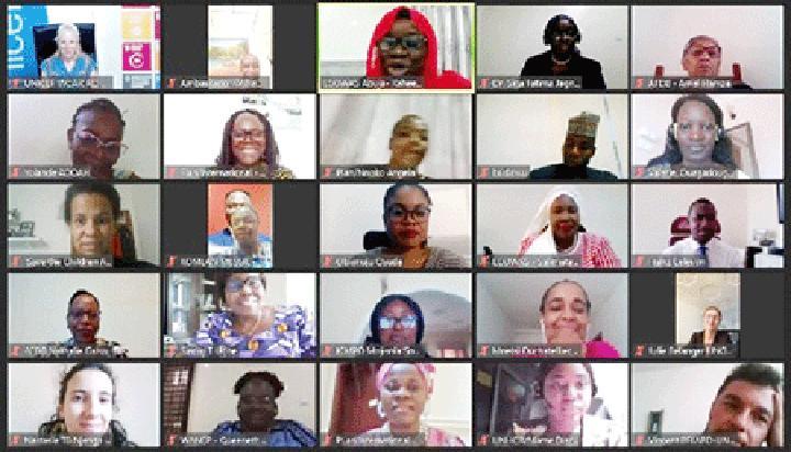 Réunion virtuelle réunion à la Commission de la CEDEAO : Evaluer les besoins des réseaux de femmes dans le développement (WID)