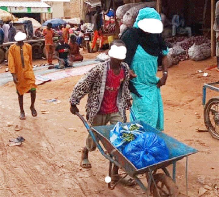 """""""Kaya kaya"""" ou le métier des portefaix sur les marchés de Niamey : Petites débrouillardises rentables pour les jeunes"""