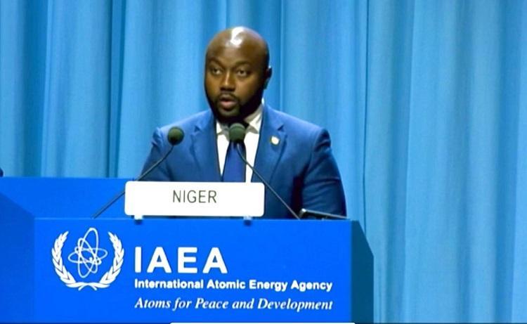 65ème Conférence générale de l'AIEA : Le Niger réaffirme sa disponibilité pour l'usage pacifique des technologies nucléaires pour la paix et le développement
