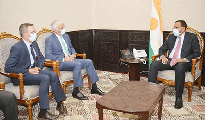 A la Présidence de la République : Le Chef de l'Etat reçoit le Président du Conseil d'Administration du groupe ORANO