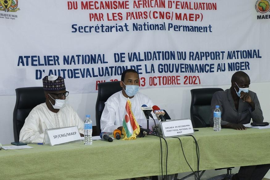 Niamey : La commission nationale du MAEP valide le rapport d'autoévaluation de la Gouvernance au Niger
