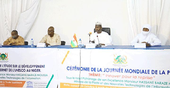Lancement de l'étude sur le développement d'Internet au Niger : Les résultats de l'étude sur l'universalité d'Internet au Niger seront bientôt connus