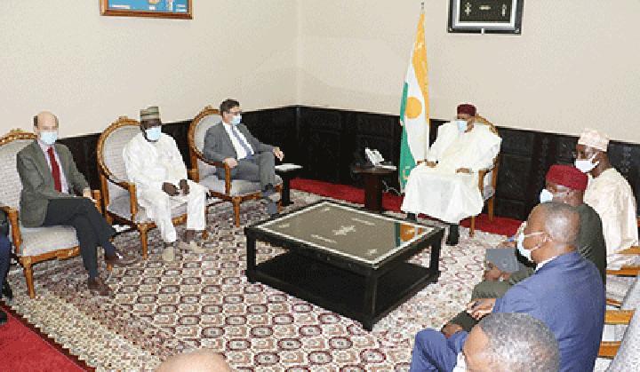 Au Palais de la Présidence de la République : Le Programme WASCAL présenté au Chef de l'Etat lors d'une rencontre avec une délégation allemande
