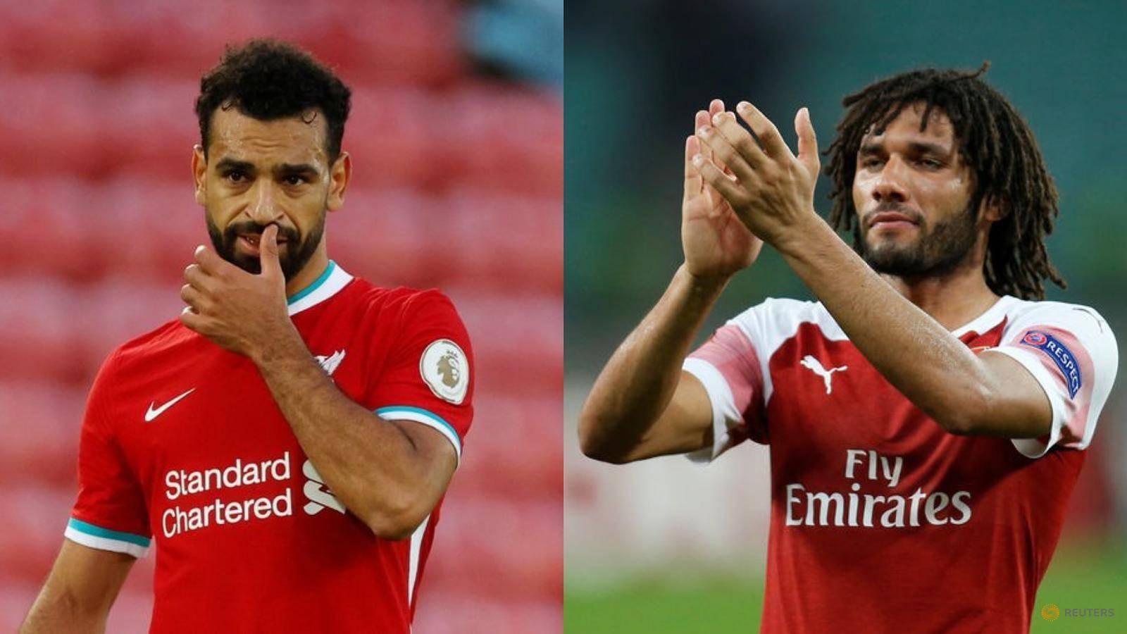 Salah, Arsenal's Elneny contract COVID-19 again