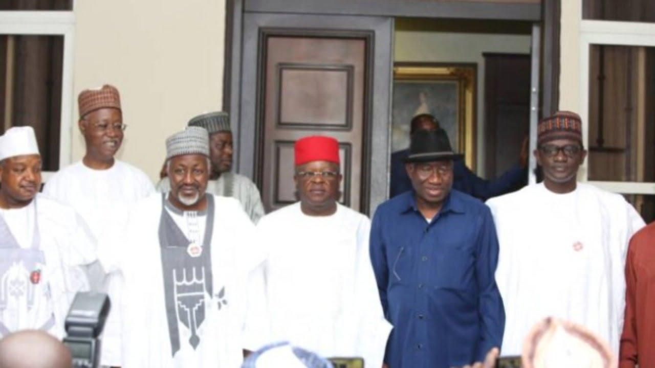 2023: APC Caretaker Chairman, govs visit Jonathan amid calls to contest presidential election