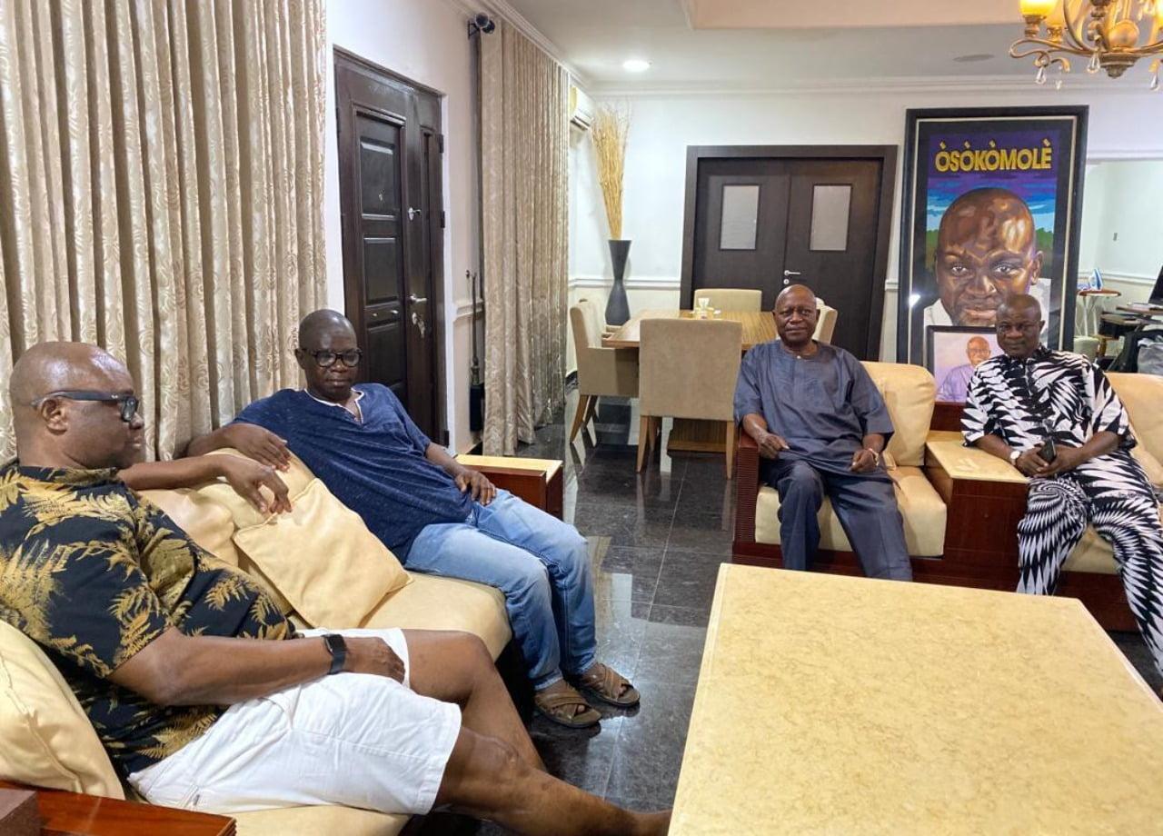 Fayose meets Ajayi, wants Ondo Deputy Gov back in PDP