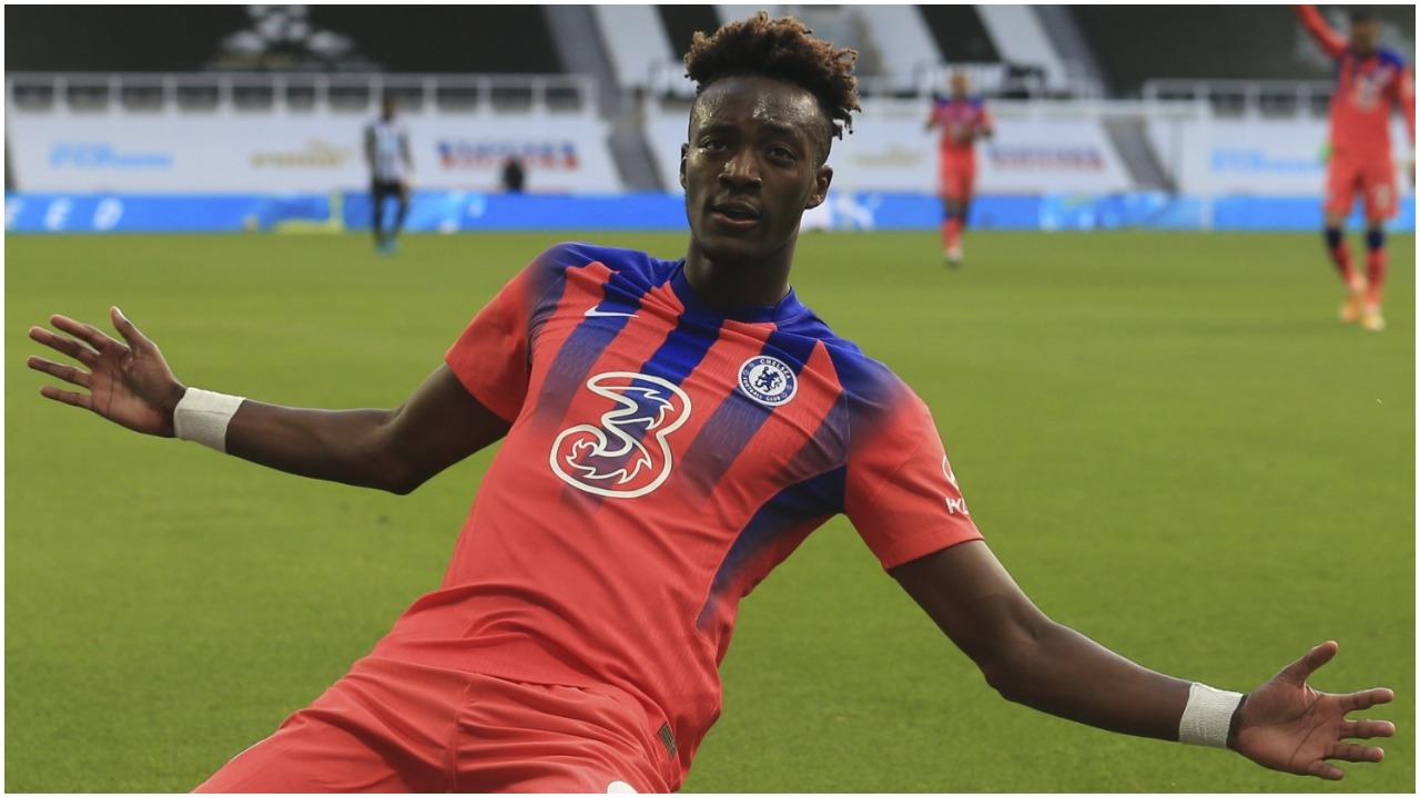 Newcastle vs Chelsea: Tammy Abraham reacts after scoring in EPL 2-0 win