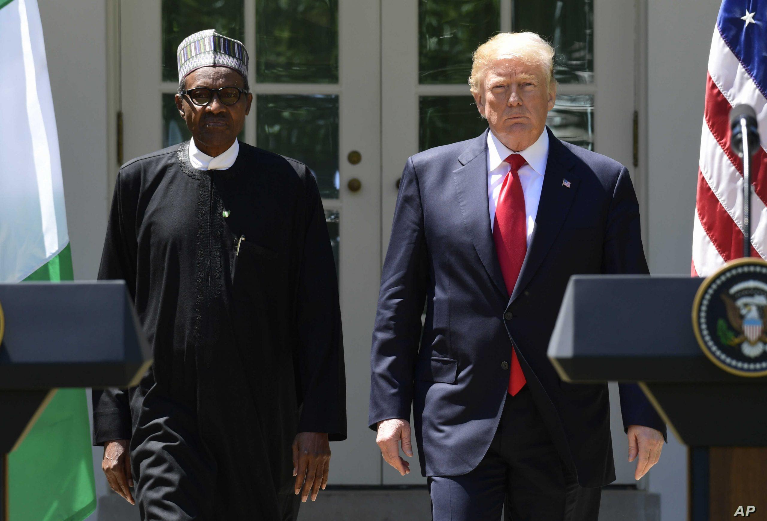 US: Islamic group tells Buhari to place travel ban on Trump