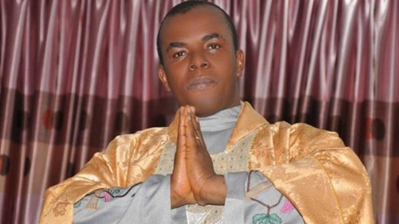 Buhari: Goodluck Jonathan's media office reports Fr Mbaka to Pope Francis