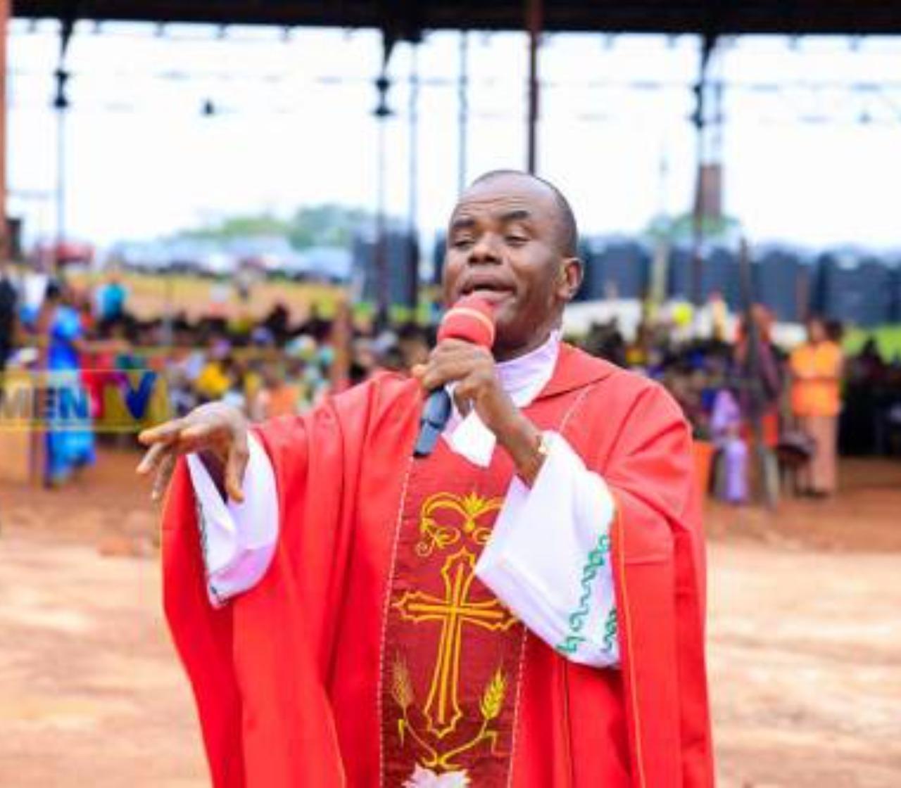 I took three people to Buhari seeking to end insecurity – Fr Mbaka