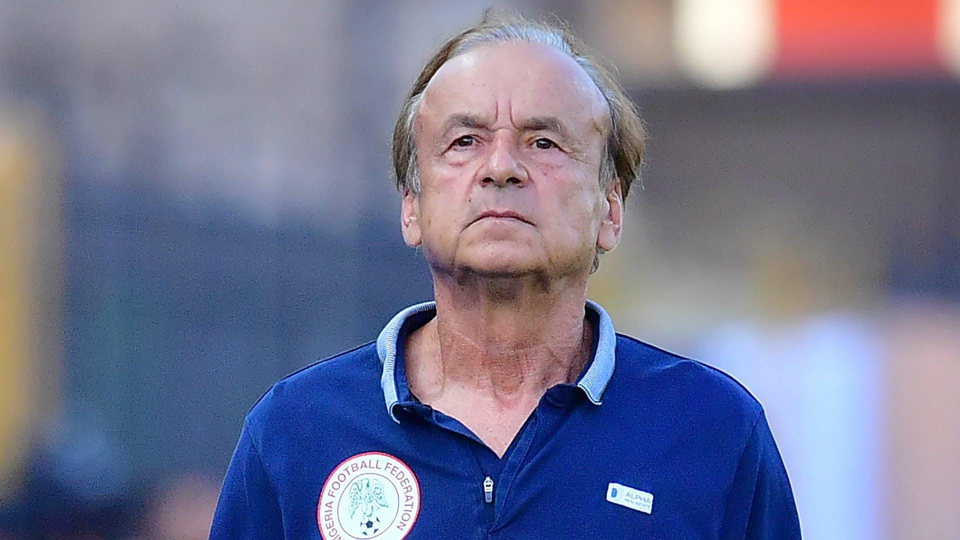 Cameroon vs Nigeria: Rohr names Super Eagles' starting XI for second friendly tie