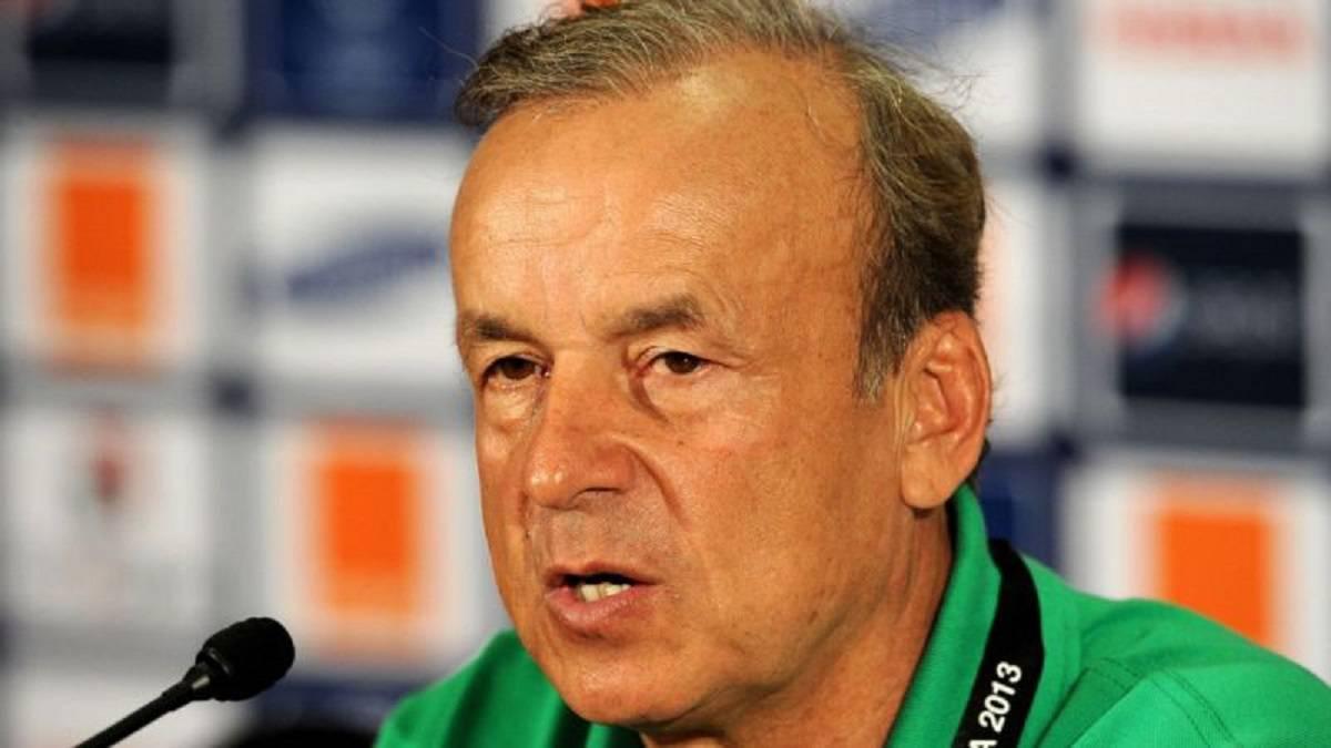 Rohr reveals venue of Super Eagles' World Cup qualifier against Liberia