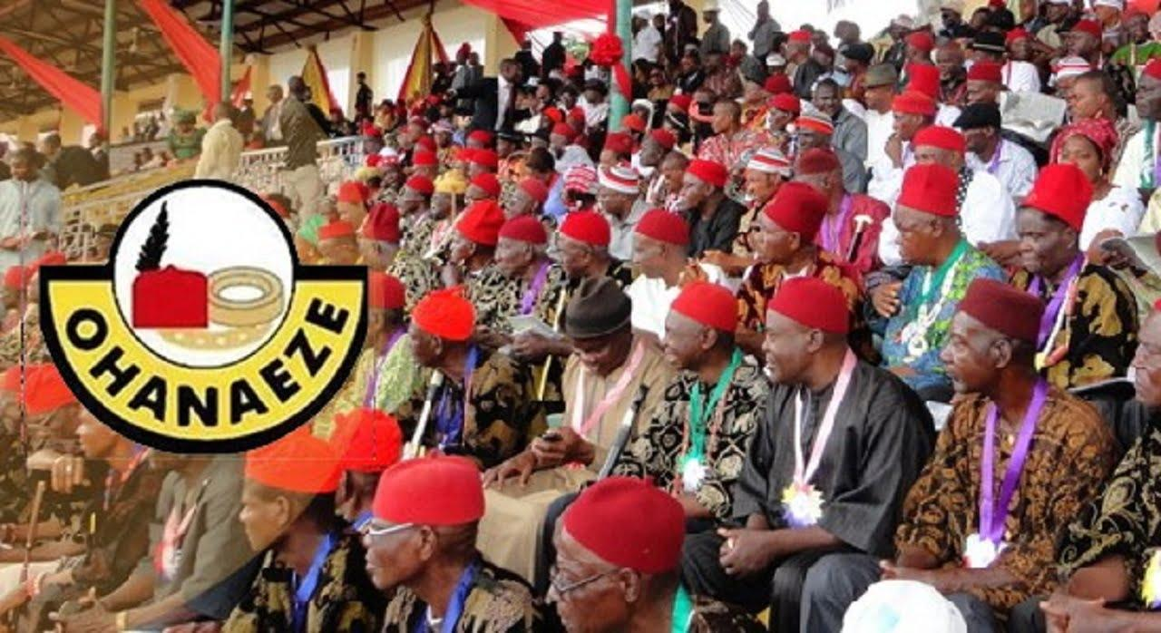 Ndigbo have lost N3.8 trillion to sit-at-home, education destroyed – Ohanaeze offers solutions