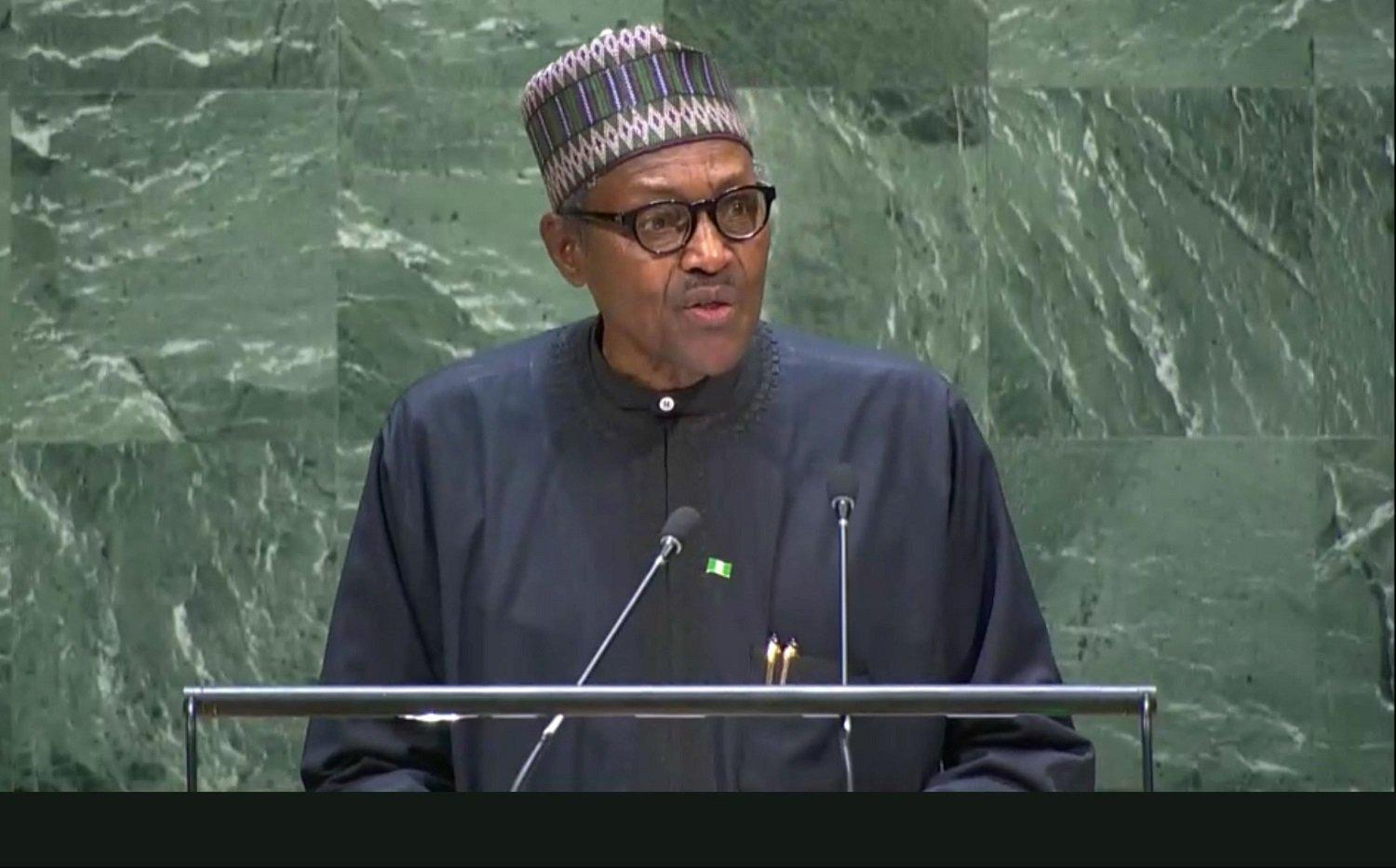 UNGA: Full text of President Buhari's speech at UN General Assembly