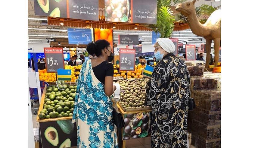 Rwanda's horticultural exports meet demand in Dubai