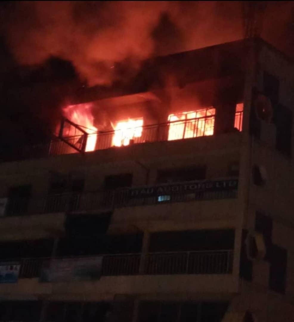 Fire guts Igihe Ltd offices