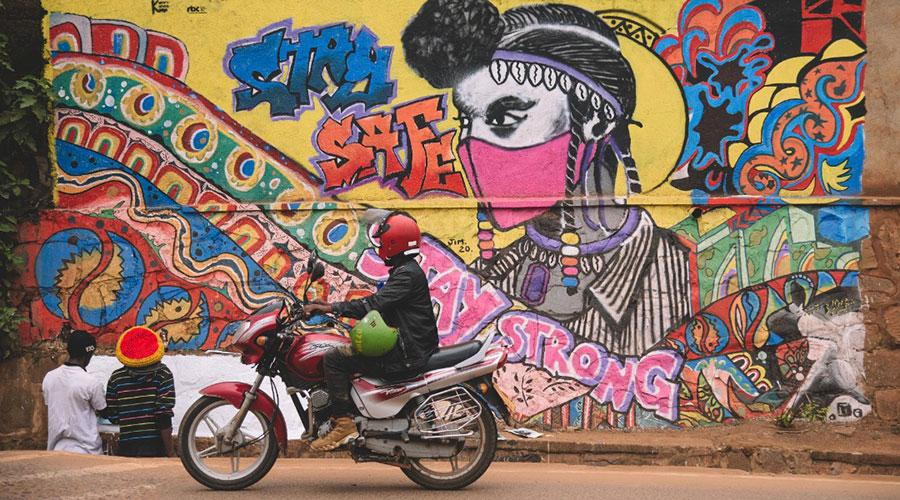 Murals in Kigali: Who is behind them and what messages do they convey?