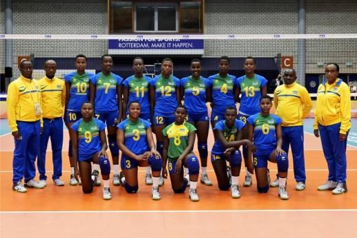 African Women Volleyball Championship: Rwanda beat Nigeria to reach semis