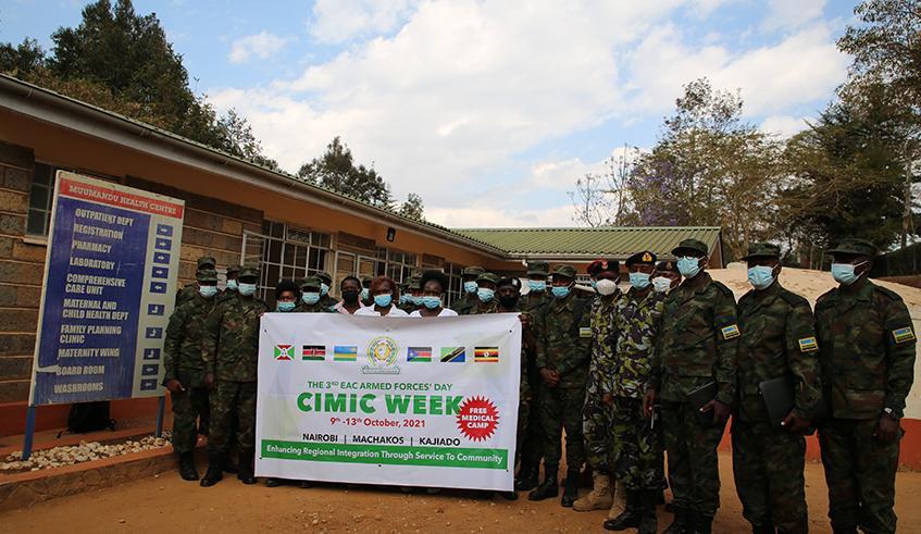 RDF treats patients in Kenya as EAC military cooperation week kicks off