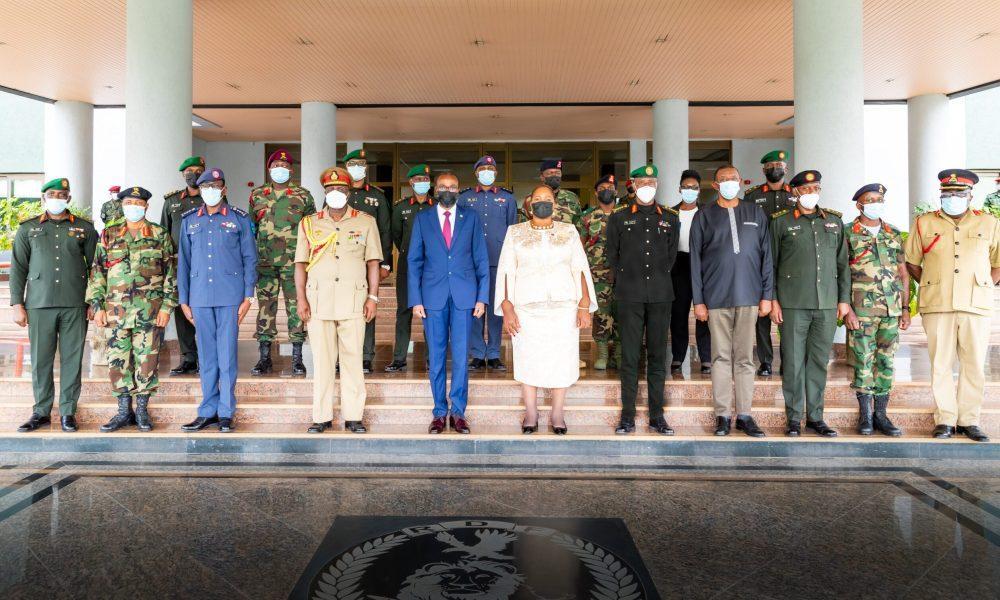 Malawian Deputy Minister Of Defence, Delegation Visit Rwanda