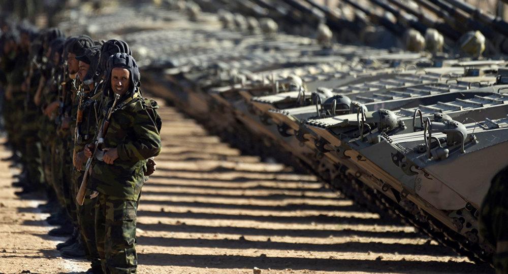قوات جبهة البوليساريو في الصحراء الغربية