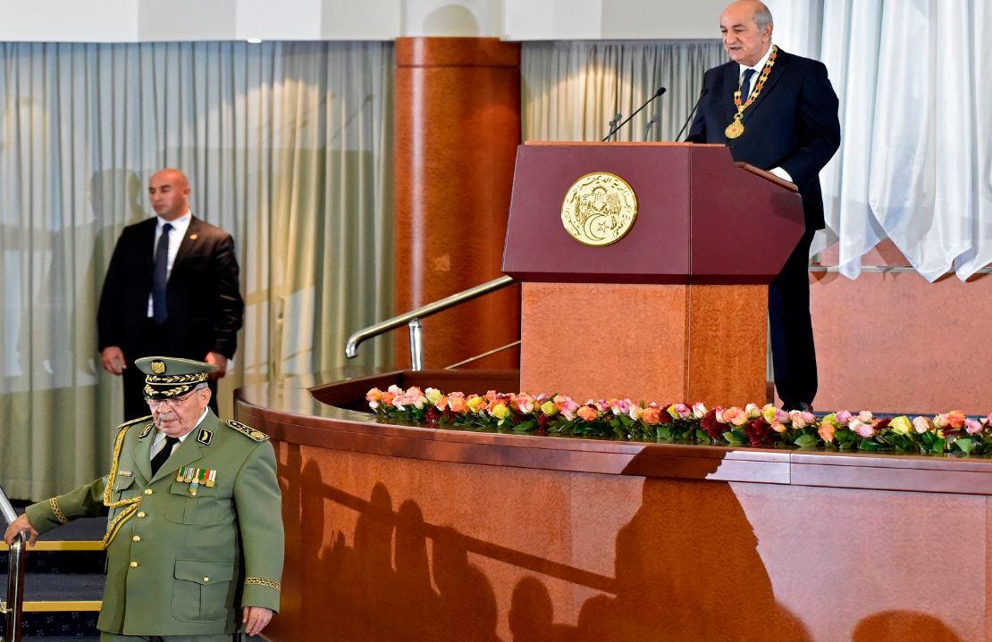 عبد المجيد تبون الرئيس الجزائري