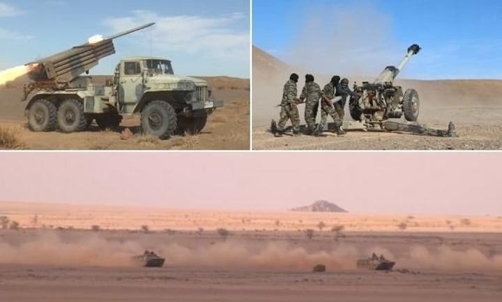 الجيش الصحراوي يوجّه قصفا مدمرا لقواعد الاحتلال المغربي بجدار الذل والعار
