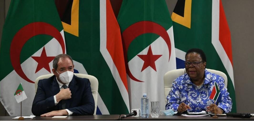 الجزائر وجنوب افريقيا تعربان عن قلهما الشديد ازاء الوضع في الصحراء الغربية