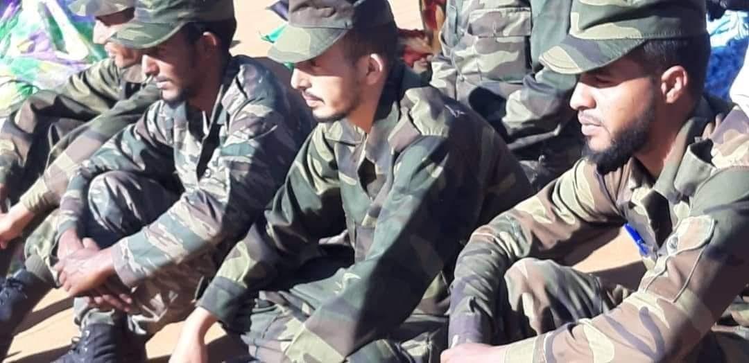 مشاهد مصورة لاستقبال ابطال جيش التحرير القادمين من ساحات الشرف