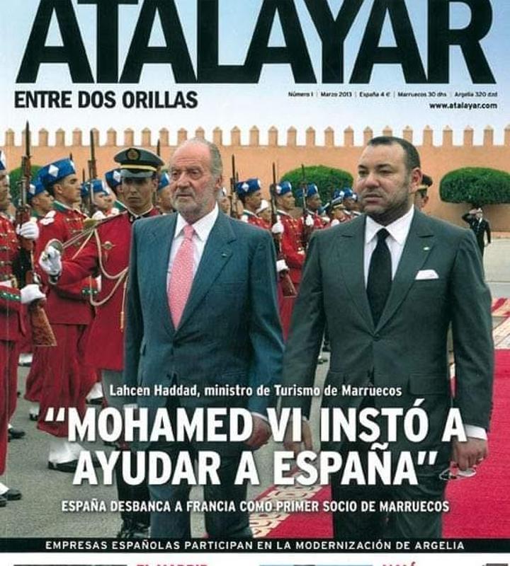 موقع فرنسي : الصحيفة الإسبانية