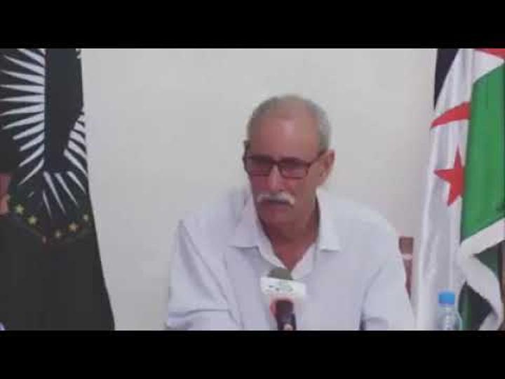 رسالة الرئيس الصحراوي ابراهيم غالي للمثقفين و الاعلاميين