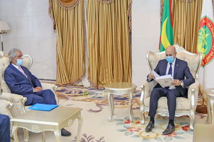 """الموقع الموريتاني""""ريم افريك"""": """"موريتانيا والملف الصحراوي …مواقف ثابتة لا تغيرها استفزازات الإعلام""""."""