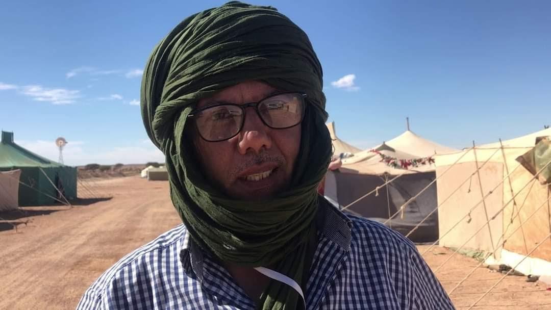 الناشط الحقوقي الصحراوي حمادي الناصري: تمسك الشعب الصحراوي بحقه في تقرير المصير