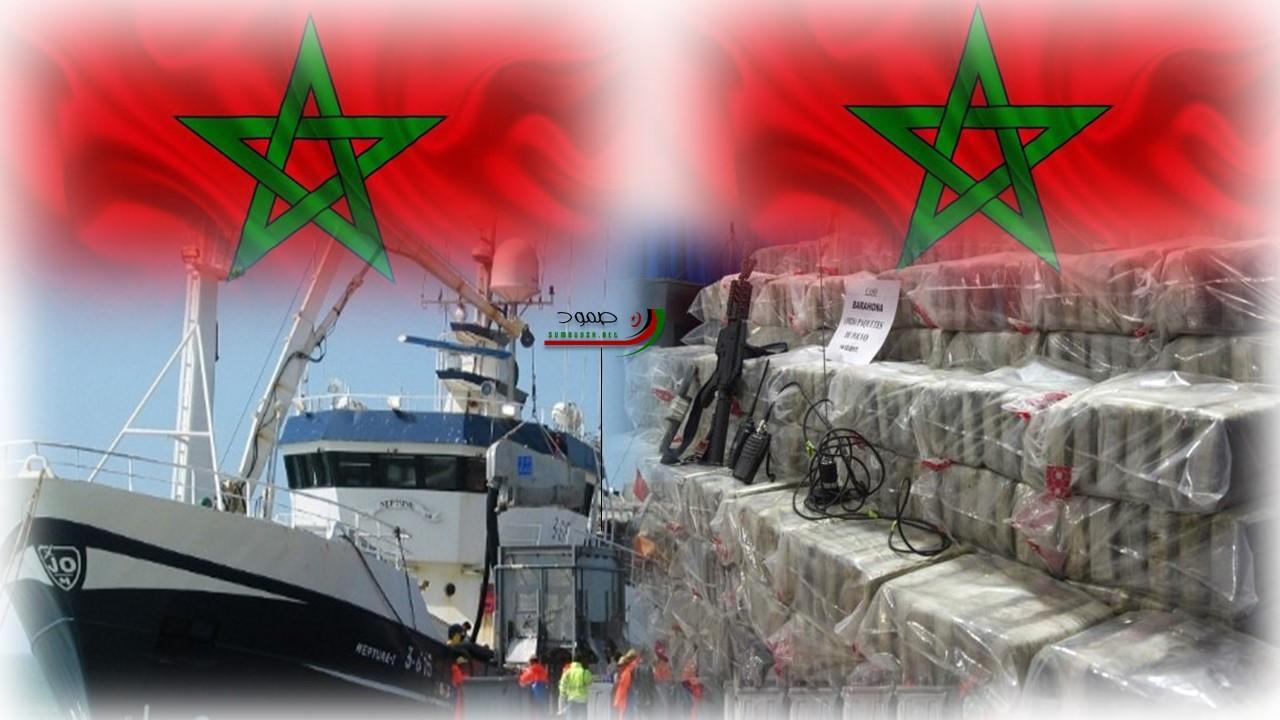 الحرب في الصحراء الغربية عطلت الطرق البرية لتجارة المخدرات، مواني مغربية وأخرى بالصحراء الغربية تحولت الى نقاط رئيسية لتصدير الحشيش نحو افريقيا
