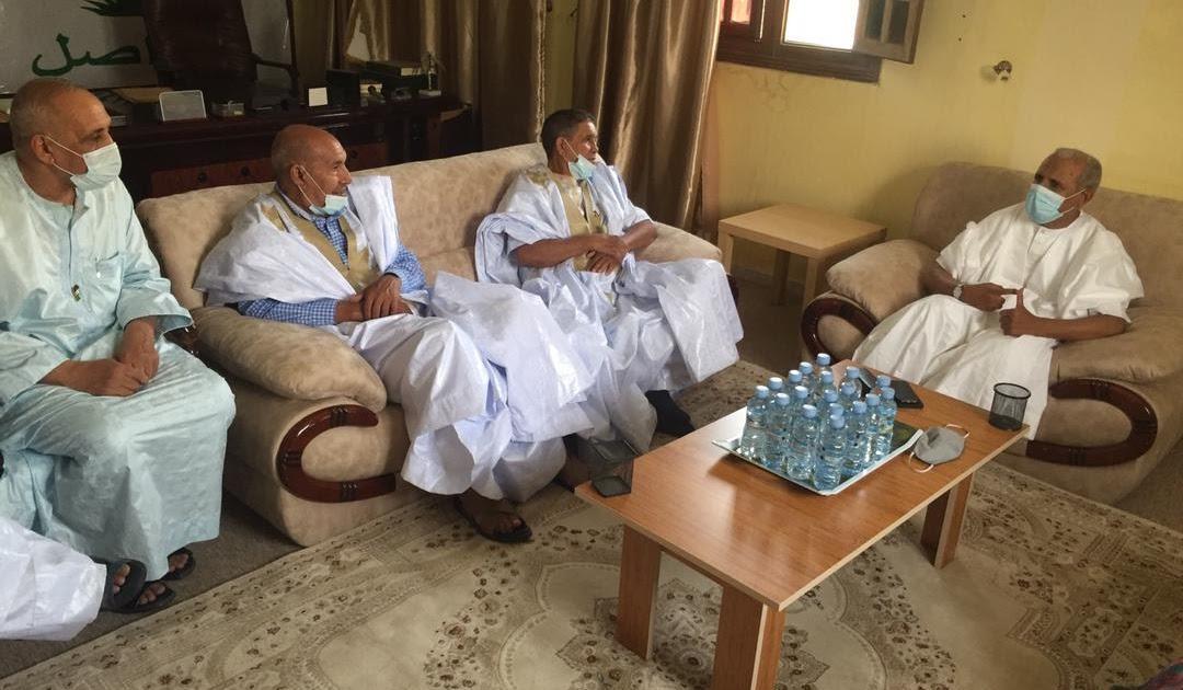 حزب التجمع الوطني للإصلاح والتنمية الموريتاني يستقبل الوفد الصحراوي الذي يزور موريتانيا