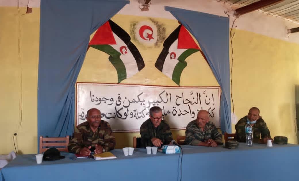 انطلاق فترة تكوينية لمحافظي جيش التحرير الشعبي الصحراوي بمدرسة الشهيد عمي للأطر