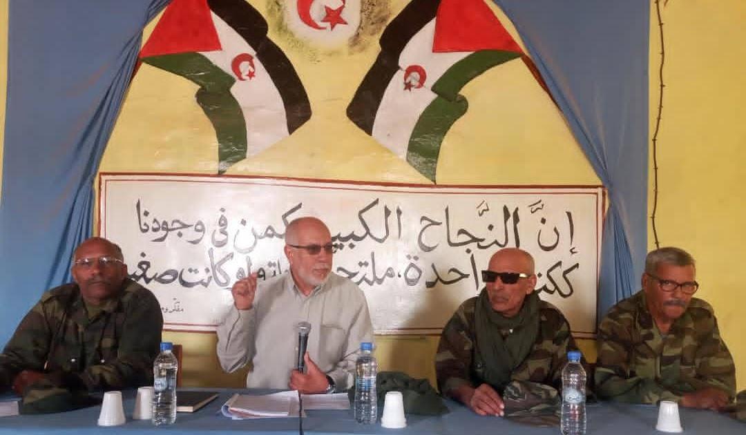 رئيس المجلس الوطني يستعرض التجربة البرلمانية الصحراوية على هامش الدورة التكوينية لمحافظي جيش التحرير