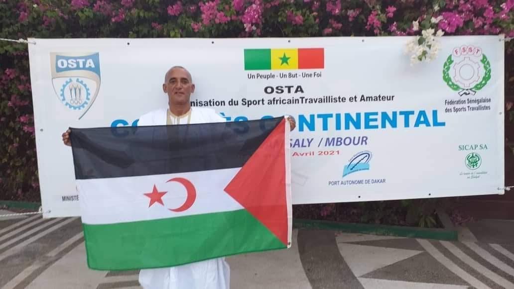 الجمهورية الصحراوية تشارك في مؤتمر اتحادية الرياضة والعمل الافريقية بالعاصمة السنغالية داكار