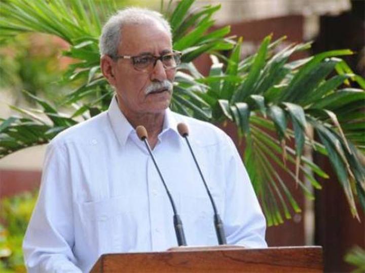 الرئيس الصحراوي الامين العام لجبهة البوليساريو ينتقل إلى جناح للنقاهة بعد شفائه من وباء كوفيد 19