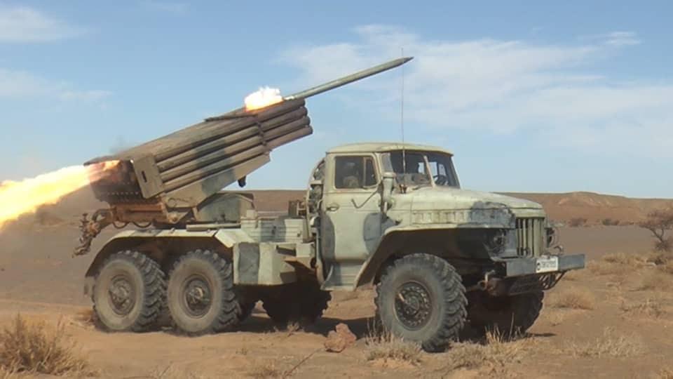مقاتلو جيش التحرير الشعبي الصحراوي ينفذون هجومات جديدة ضد تخندقات جنود الاحتلال بمناطق الفرسية، المحبس وحوزة