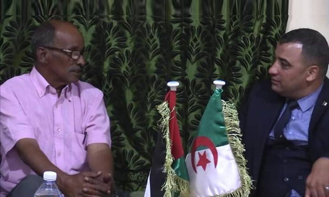 الوزير الصحراوي المنتدب المكلف بالتكوين المهني يستقبل ممثلي نقابات وهيئات جزائرية