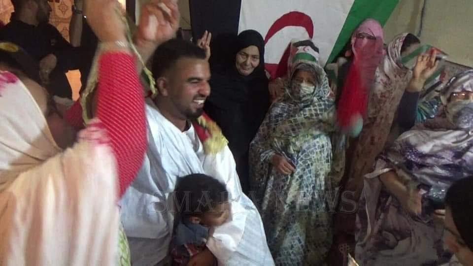 قوة الإحتلال المغربي تفرج عن المدون و السجين السياسي الصحراوي