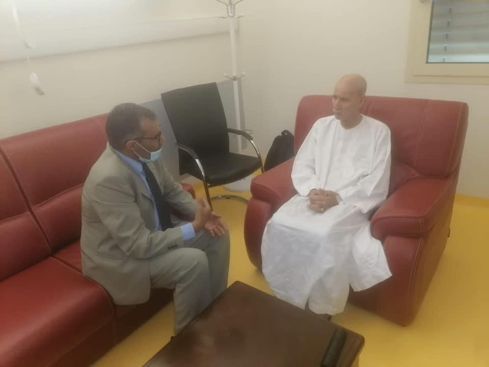 الرئيس الصحراوي يتماثل للشفاء ويستقبل رئيس الحكومة في إقامة فترة نقاهته بالجزائر